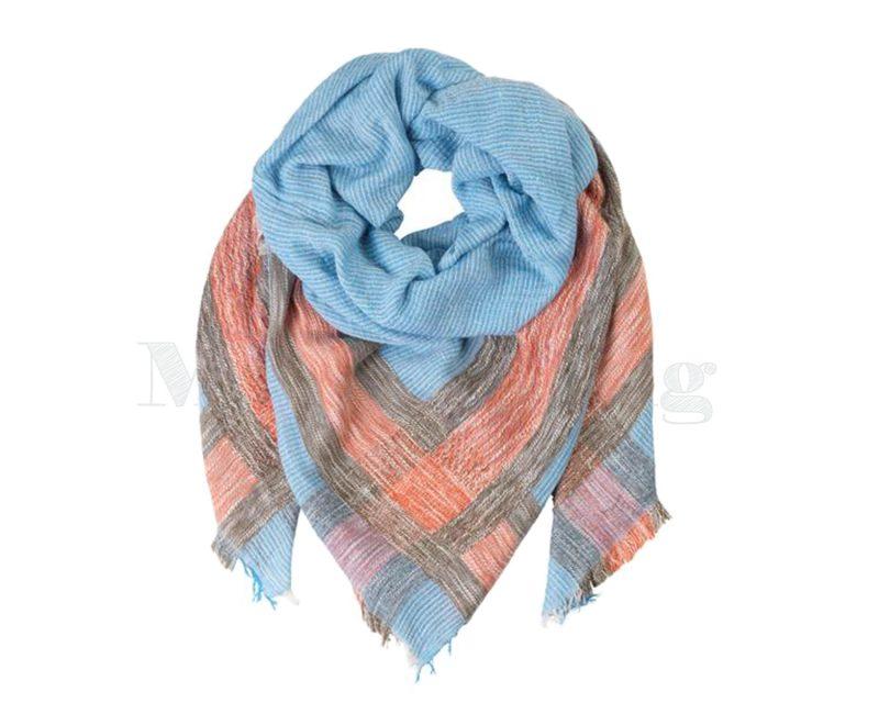 Becksondergaard, katoen modal wol, Ampere Placid blue
