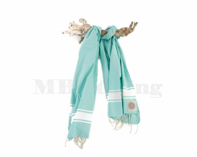 Call it Fouta Plate Turquoise