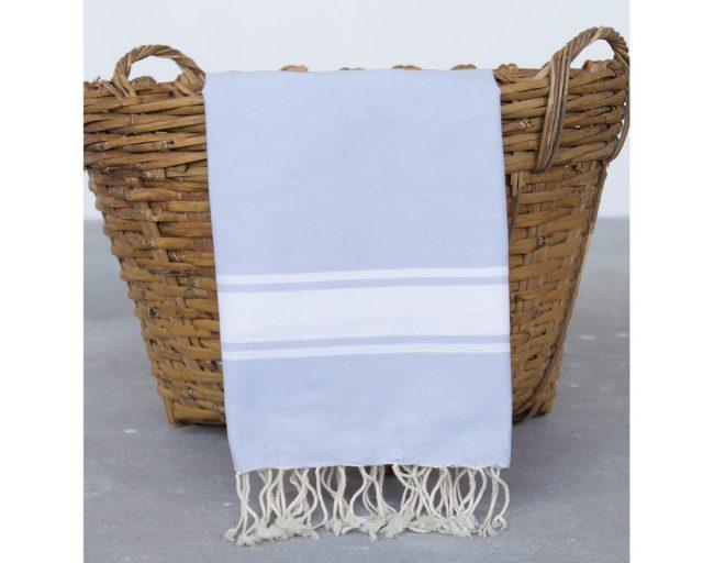 Call it fouta hamamdoek Plate Blue Pastel