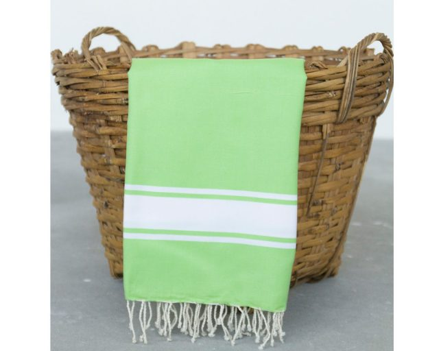Call it fouta hamamdoek Plate Green Anise