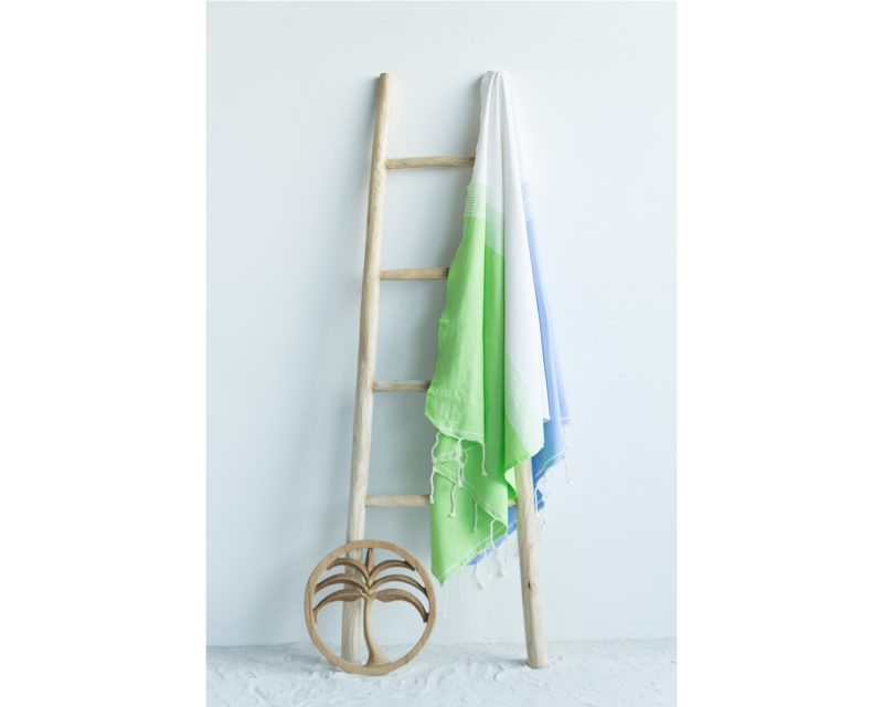 Call it Fouta hamandoek Splash blue anis