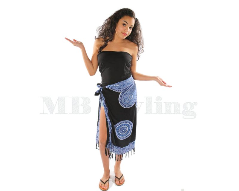 Call-it-Fouta-sarong-Black-blue