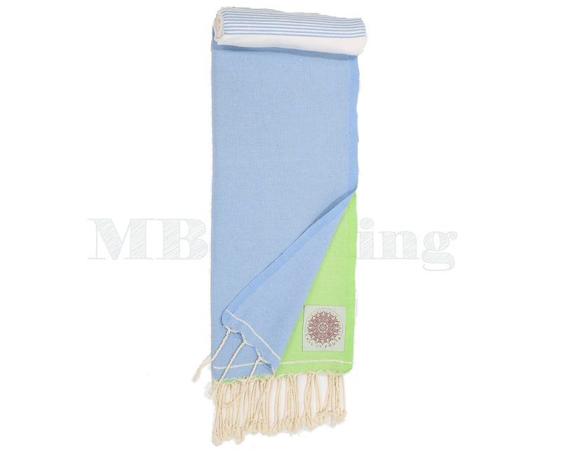 Call it Fouta hamamdoek Splash blue anis