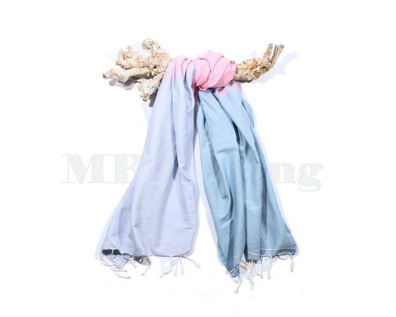 Call-it-fouta-hamandoek-splash-soft blue soft pink
