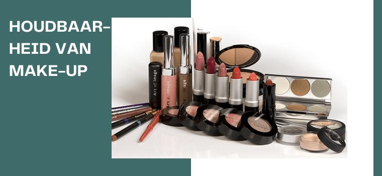 Houdbaarheid van make-up producten