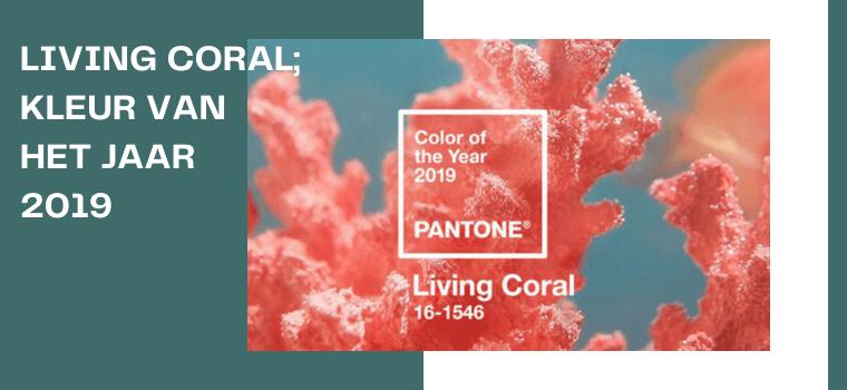 Living Coral is de kleur van het jaar 2019.