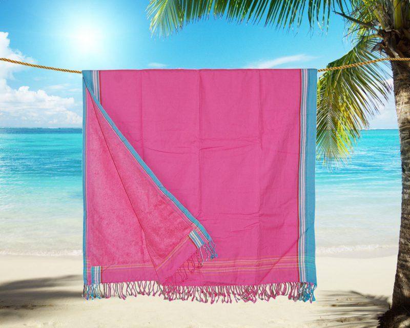 Pure-Kenya-Kikoy-strandlaken-Lamu-pink