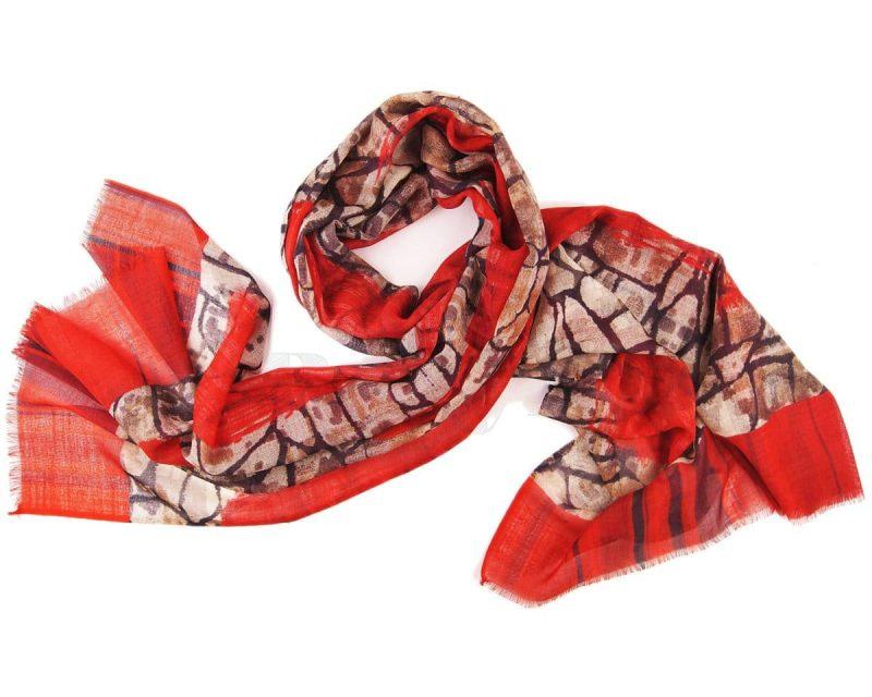 Silkroute wollen shawl Ragmar