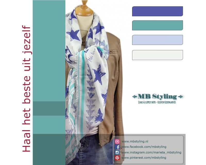 Shawl, Moment by Moment, modal viscose, Eindhoven, powder blues