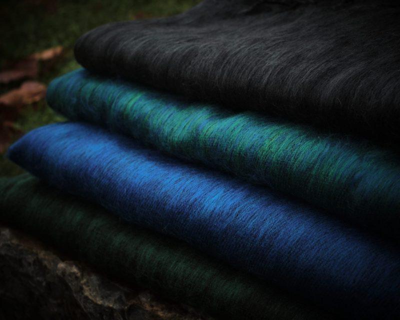 Sjaal Nepal - Aqua groen