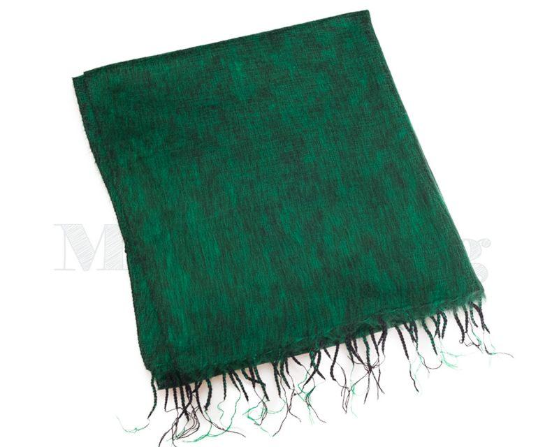 Sjaal-Nepal-Effen-Shawl-Grasgroen