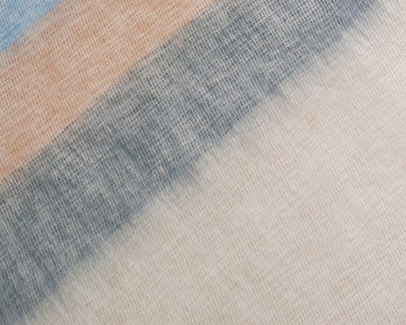 Sjaal-Nepal-Effen-Shawl-Lichtblauw-gestreept