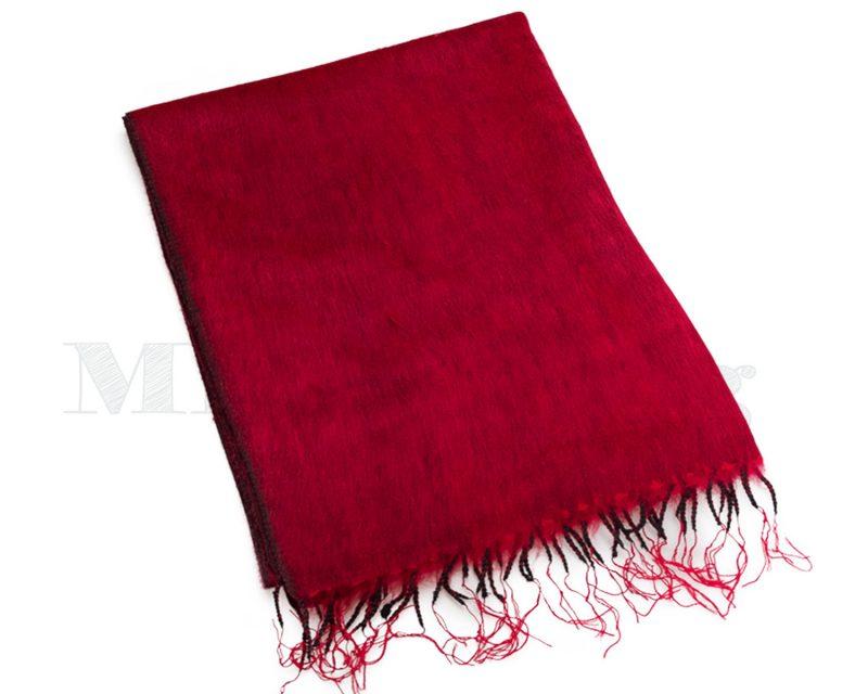 Sjaal-Nepal-Effen-Shawl-Rood