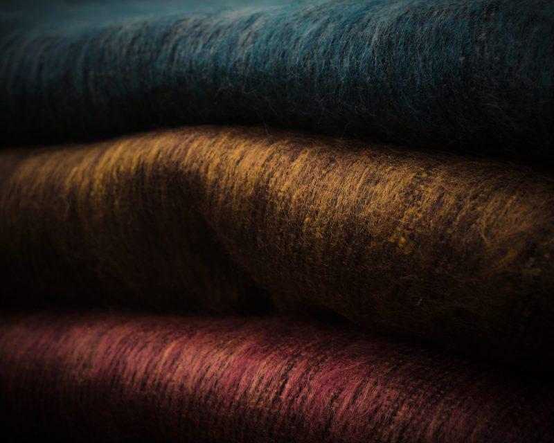 Sjaal Nepal - Koraal vergrijsd