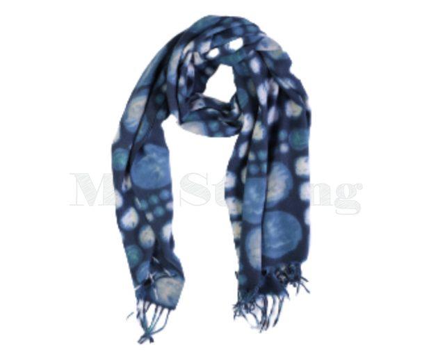 Sjaal-Viscose-blauwe-cirkels