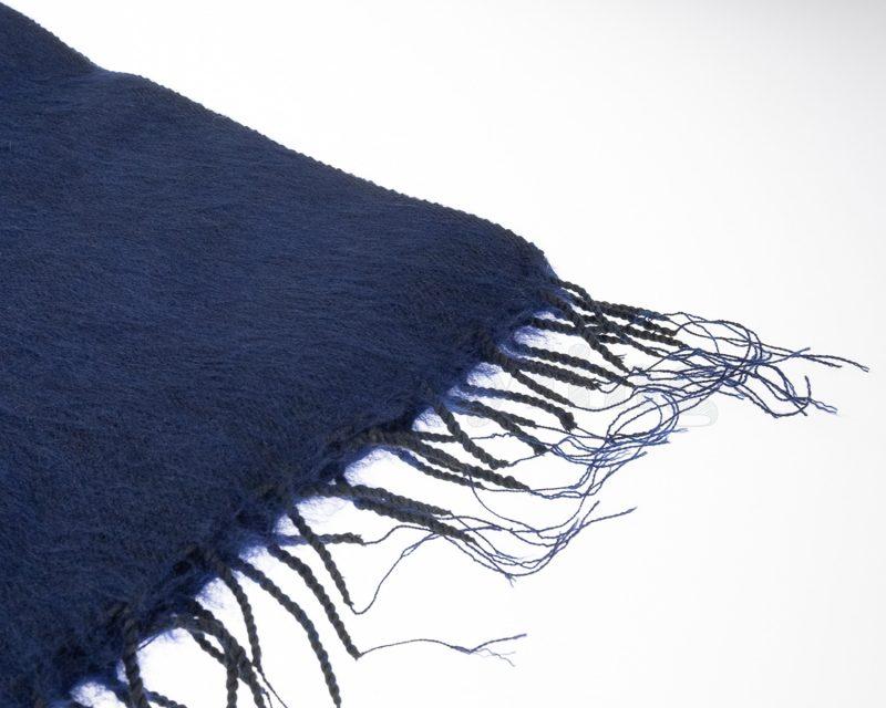 Sjaal Yakwol Effen Shawl - Donkerblauw