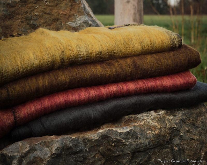 Sjaal-Yakwol-Nepal-Rood Bruin