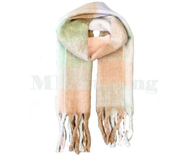 Sjaal-geblokt-viscose-wol-Violet