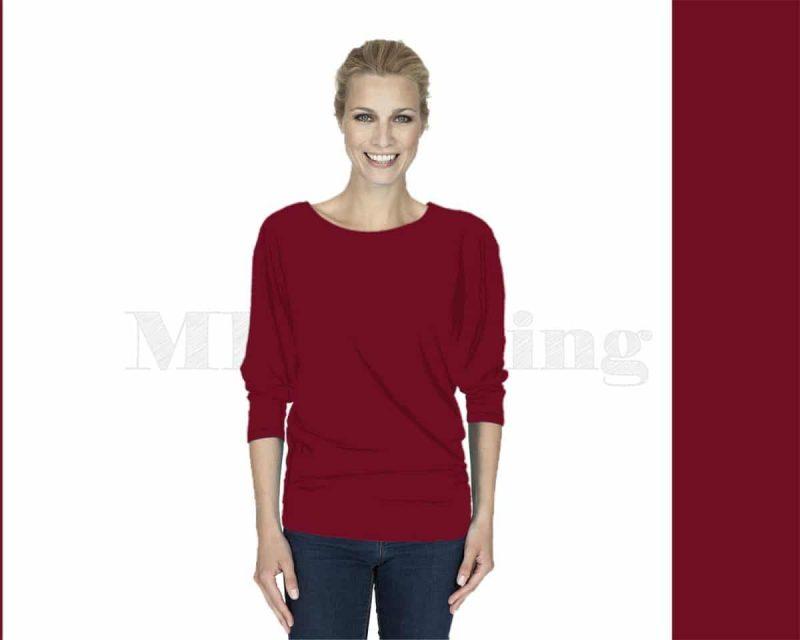 Slippely-shirt-driekwart-mouw-viscose-17063-samba