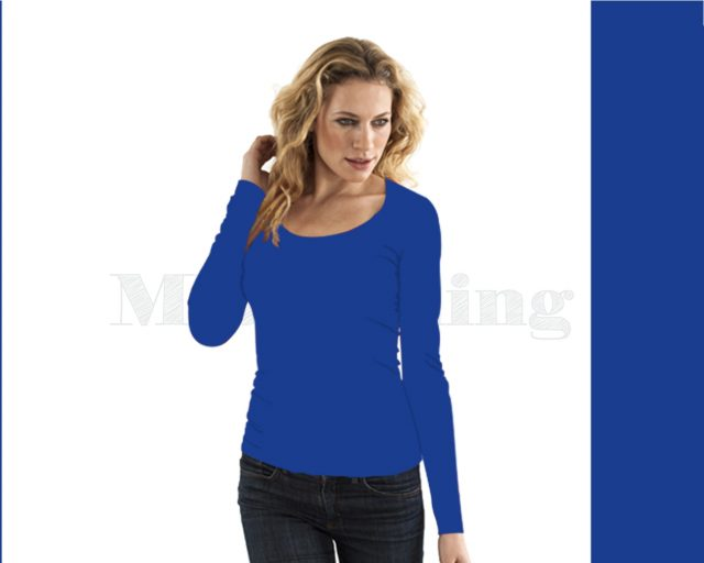 Slippely shirt lange mouw viscose 17730 Knightrider