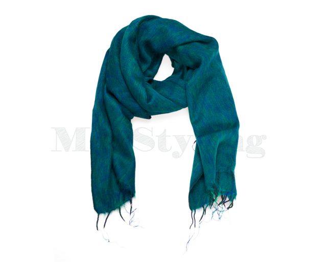Sjaal Nepal Aqua