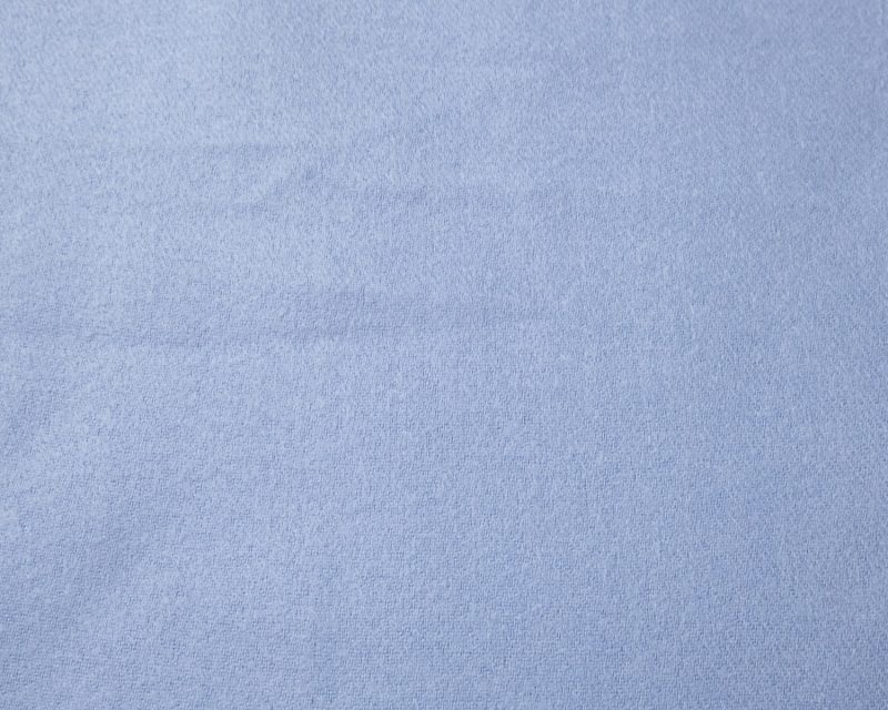 Shawl-katoen-viscose-wol-effen--licht-blauw