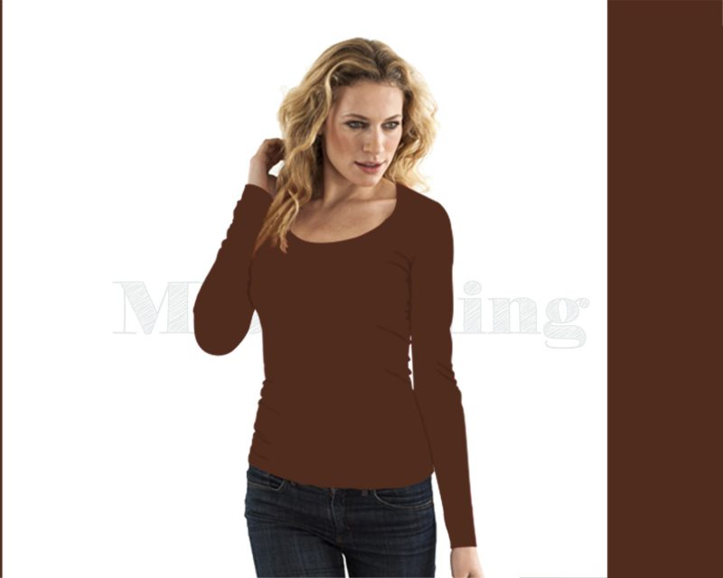 slippely-shirt-17730-dark brown