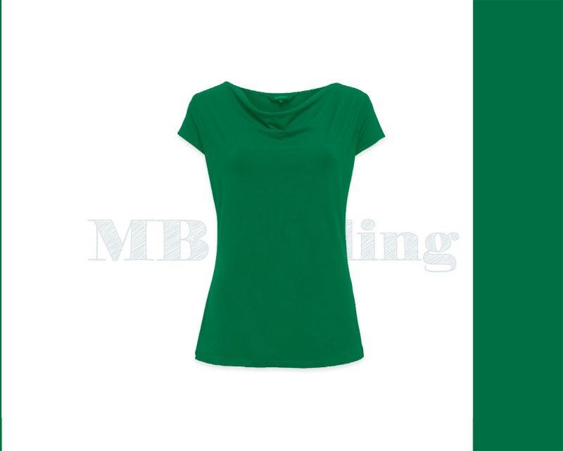 Slippely shirt korte mouw viscose SL 02663 - Green